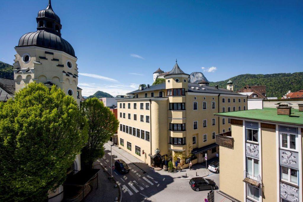Außenansicht des Hotel Andreas Hofer in Kufstein